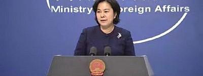 华春莹回怼美政客指责中国制裁,精彩反击,一针见血!